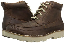 206 Collective Men's Pioneer Moc-Toe Lace-up Boot, Brown, 8 D US - Shoes Direct