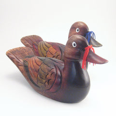 Korean Wedding Ducks - Fancy 9.75""