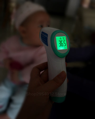 Digital Thermometer Infrared Baby Adult Forehead Non-contact Infrared Thermometer With LCD Backlight Termometro Infravermelh