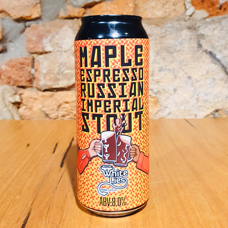 White Lies, Maple Espresso, 500ml