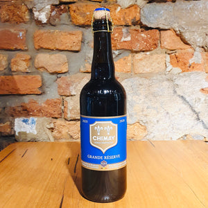 Bieres de Chimay, Chimay Bleue Grand Reserve, 750ml