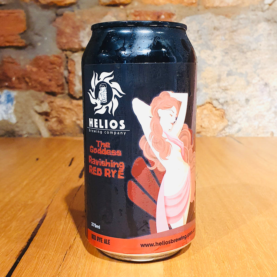 Helios, The Goddess Ravishing Red Rye, 375ml