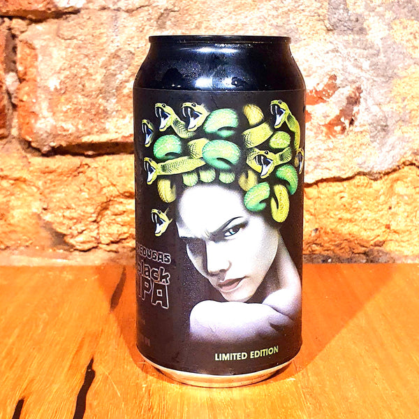 Helios, Medusa Black IPA, 375ml