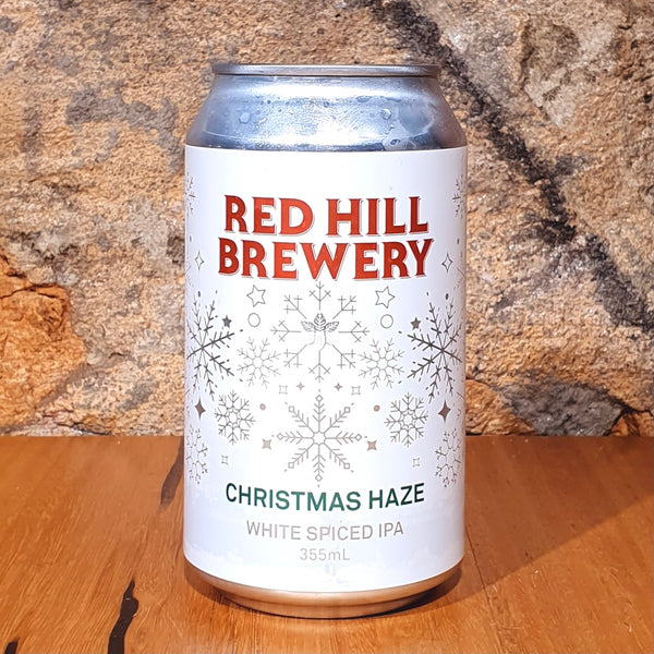 Red Hill Brewery, Christmas Haze, 355ml