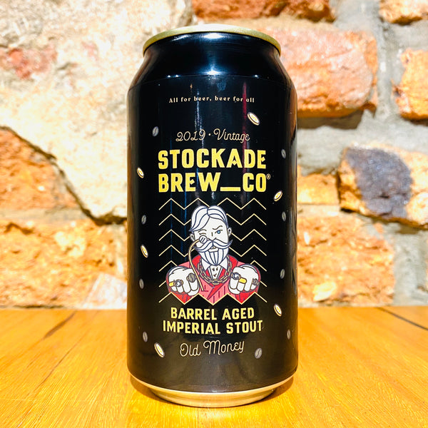 Stockade Brew Co., Old Money Imperial Stout, 375ml
