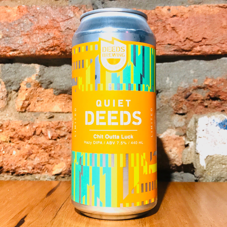 Deeds Brewing, Quiet Deeds Chit Outta Luck, 440ml