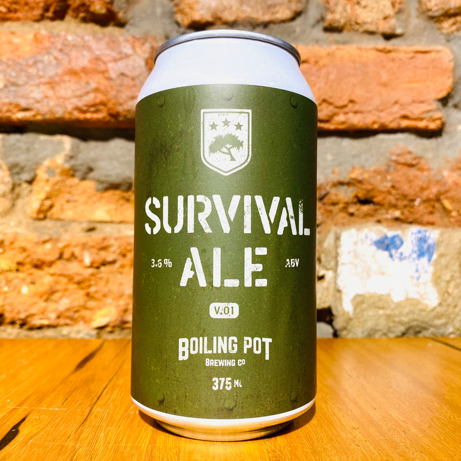 Boiling Pot Brewing Co., Survival Ale, 375ml