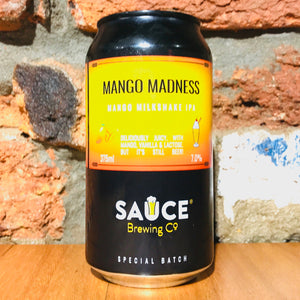 Sauce Brewing Co., Mango Madness, 375ml