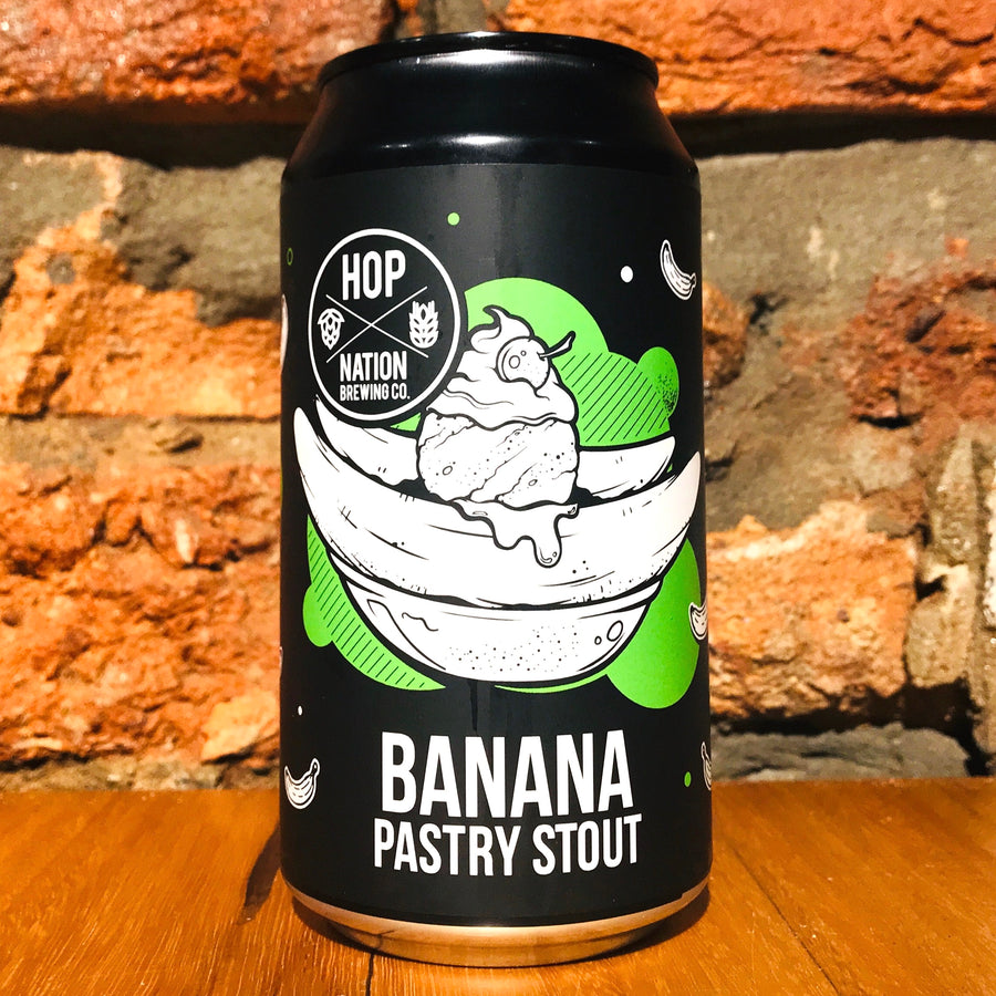 Hop Nation, Banana Pastry Stout, 375ml