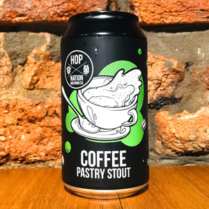 Hop Nation, Coffee Pastry Stout, 375ml