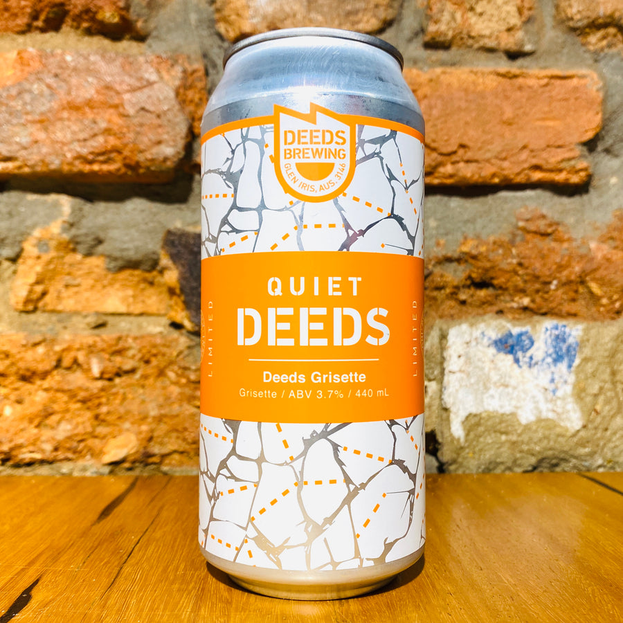 Quiet Deeds, Grisette, 440ml