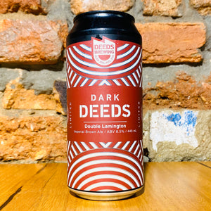 Dark Deeds, Double Lamington, 440ml
