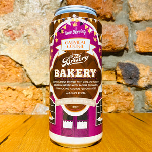 The Bruery, Bakery Oatmeal Cookie, 473ml
