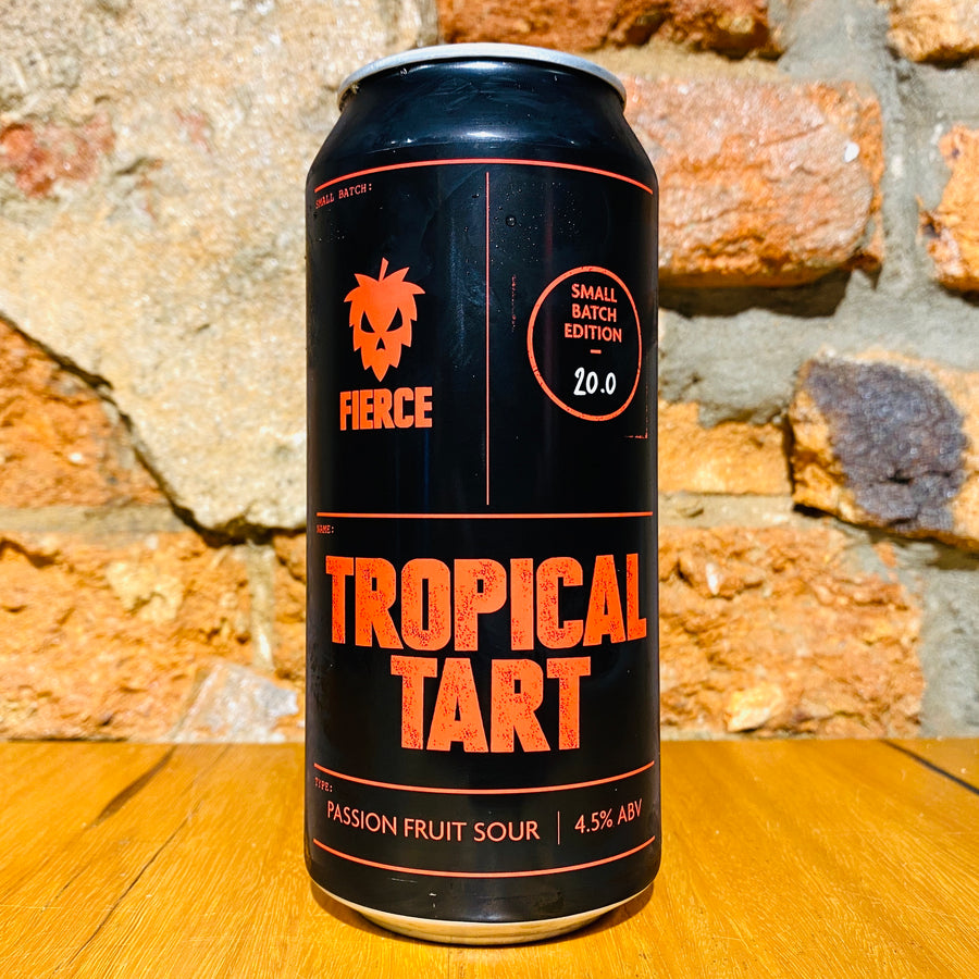 Fierce Beer, Tropical Tart Passionfruit Sour, 440ml
