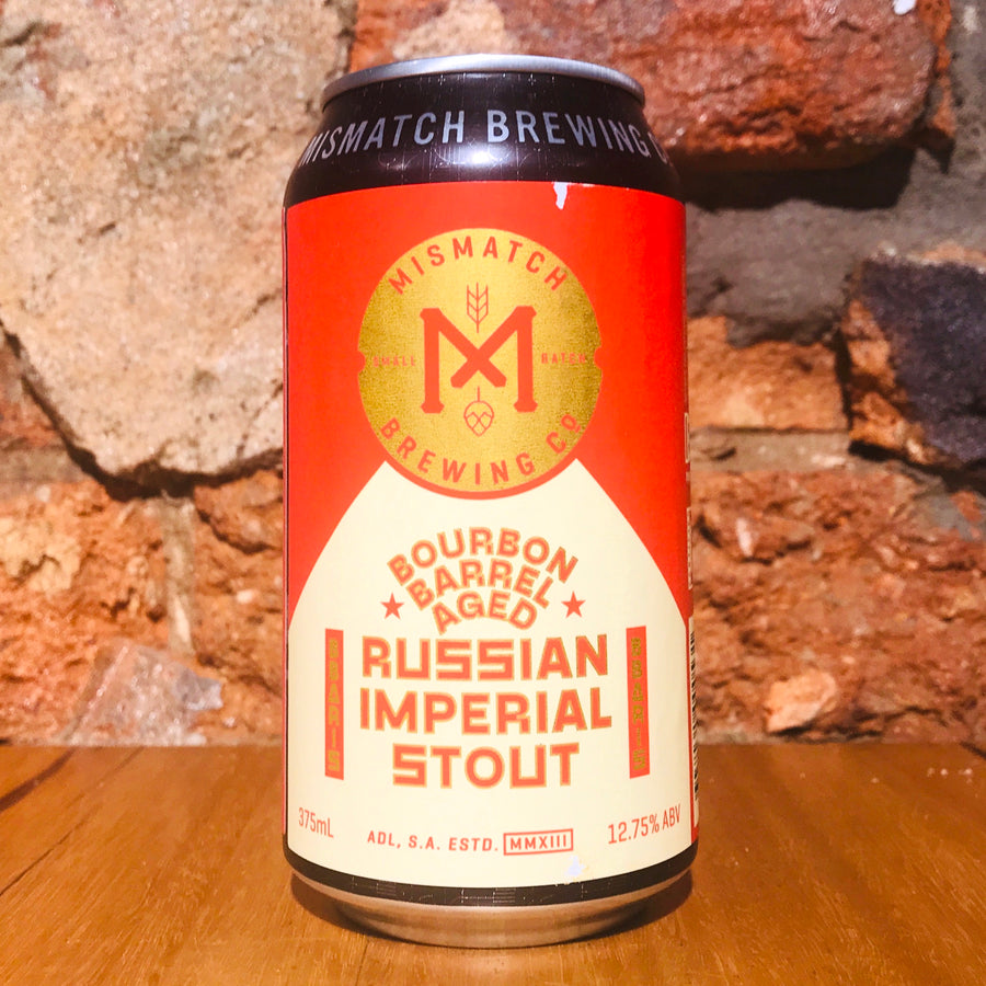 Mismatch Brewing, Bourbon Barrel Aged RIS, 375ml