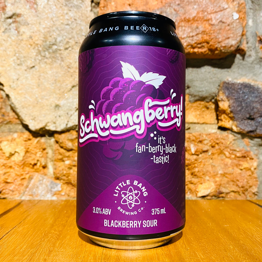 Little Bang, Schwangberry Blackberry, 375ml