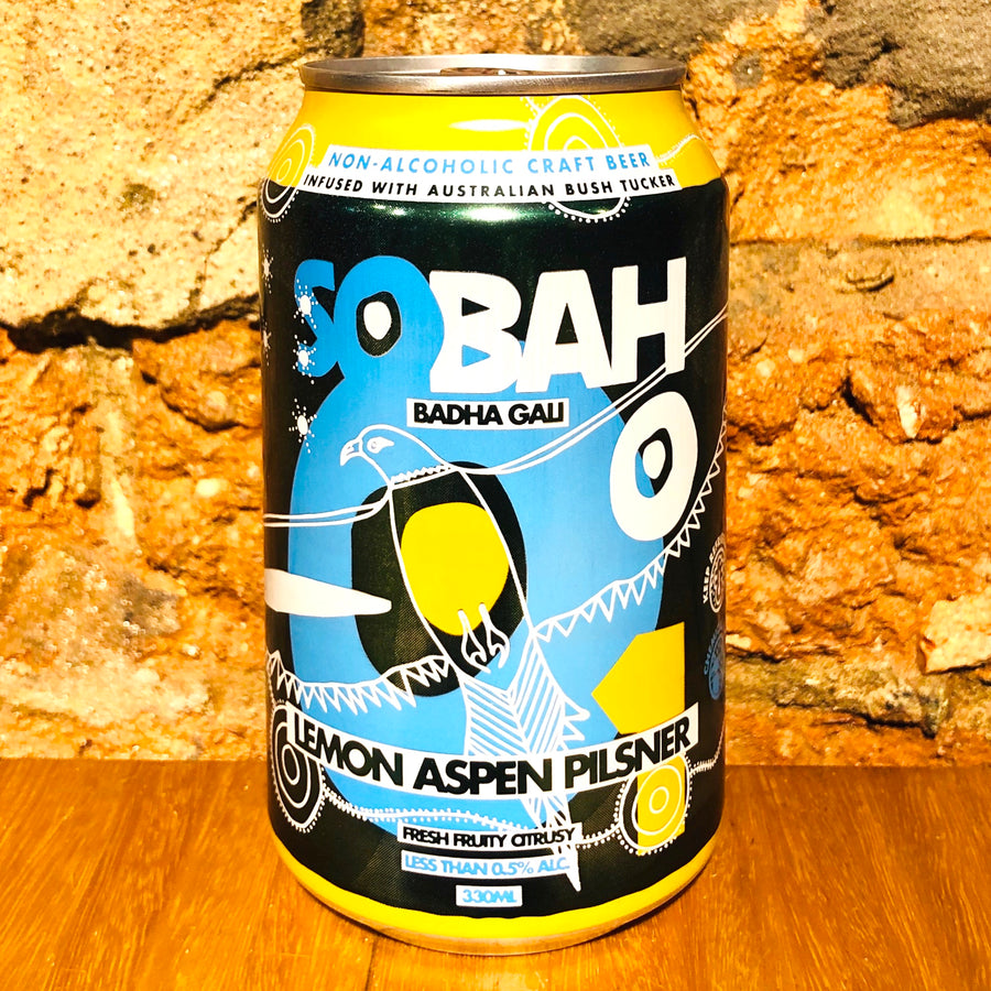 Sobah, Lemon Aspen Pilsner, 330ml