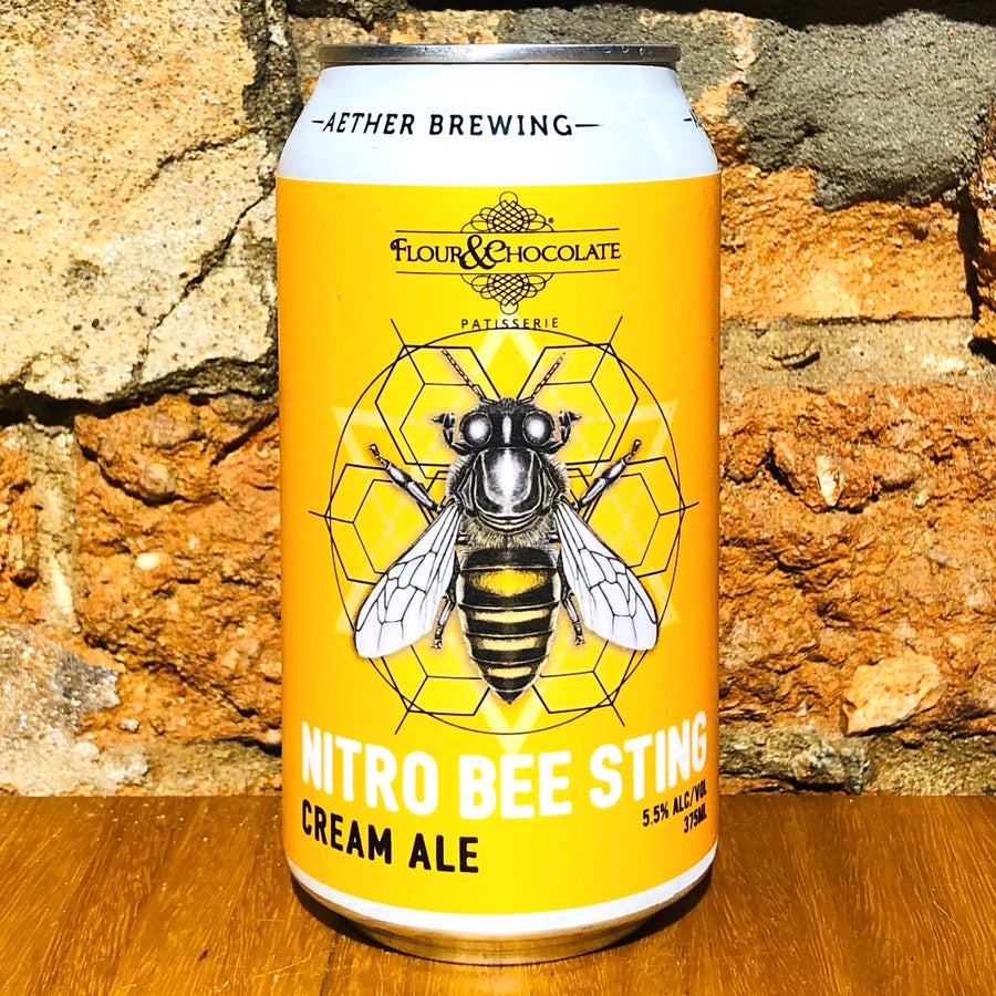 Aether, Bee Sting Nitro Cream Ale, 375ml
