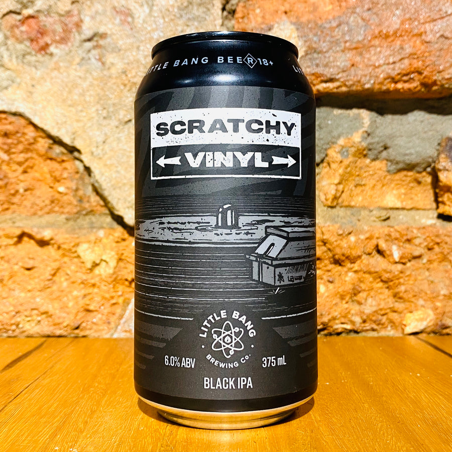 Little Bang Brewking, Scratchy Vinyl, 375ml