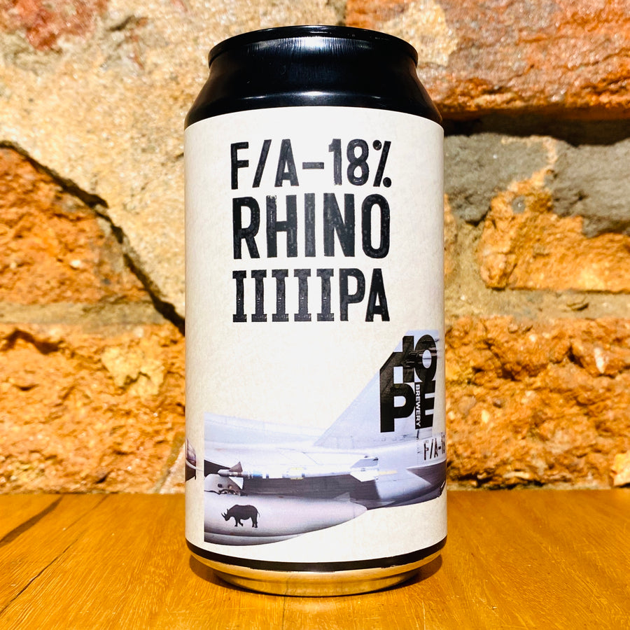 Hope Brewery, F/A-18% Rhino IIIIIPA, 375ml