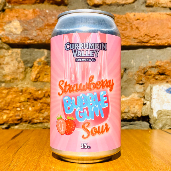 Currumbin Valley, Strawberry Bubblegum Sour, 375ml