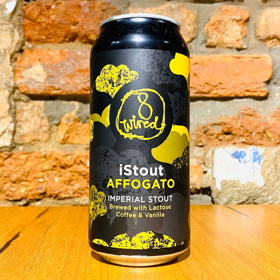 8 Wired Brewing, iStout Affogato, 440ml