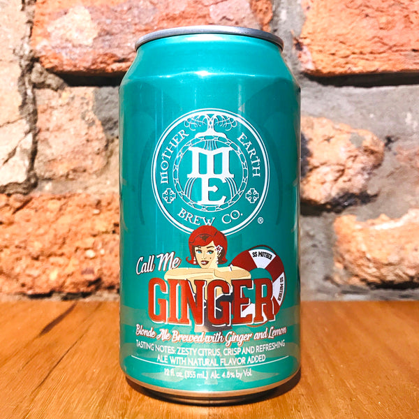 Mother Earth, Call Me Ginger, 355ml