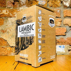 Brouwerij Oud Beersel, Hibiscus infused Lambic, 3.1L bag-in-box