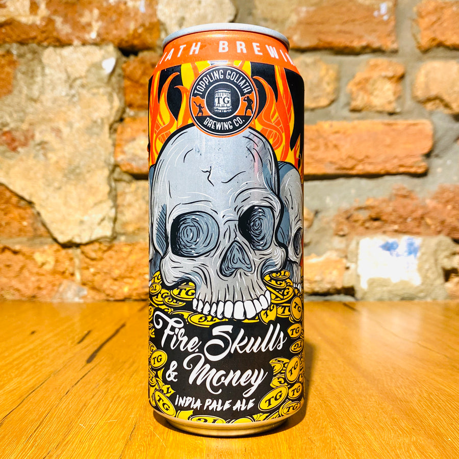 Toppling Goliath Brewing Co., Fire, Skulls & Money, 473ml