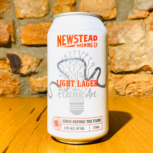 Newstead Brewing Co., Light Lager Electric Arc, 375ml
