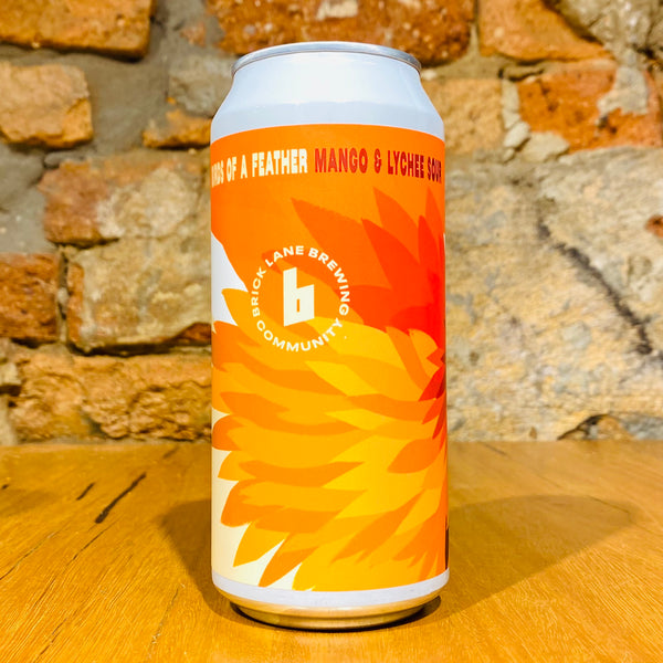 Brick Lane Brewing, Birds of a Feather: Mango & Lychee Sour, 440ml