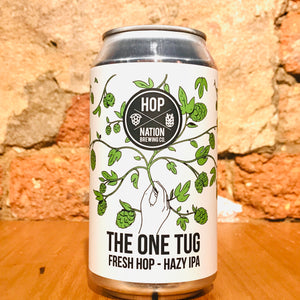 Hop Nation Brewing Co., The One Tug Hazy IPA, 375ml