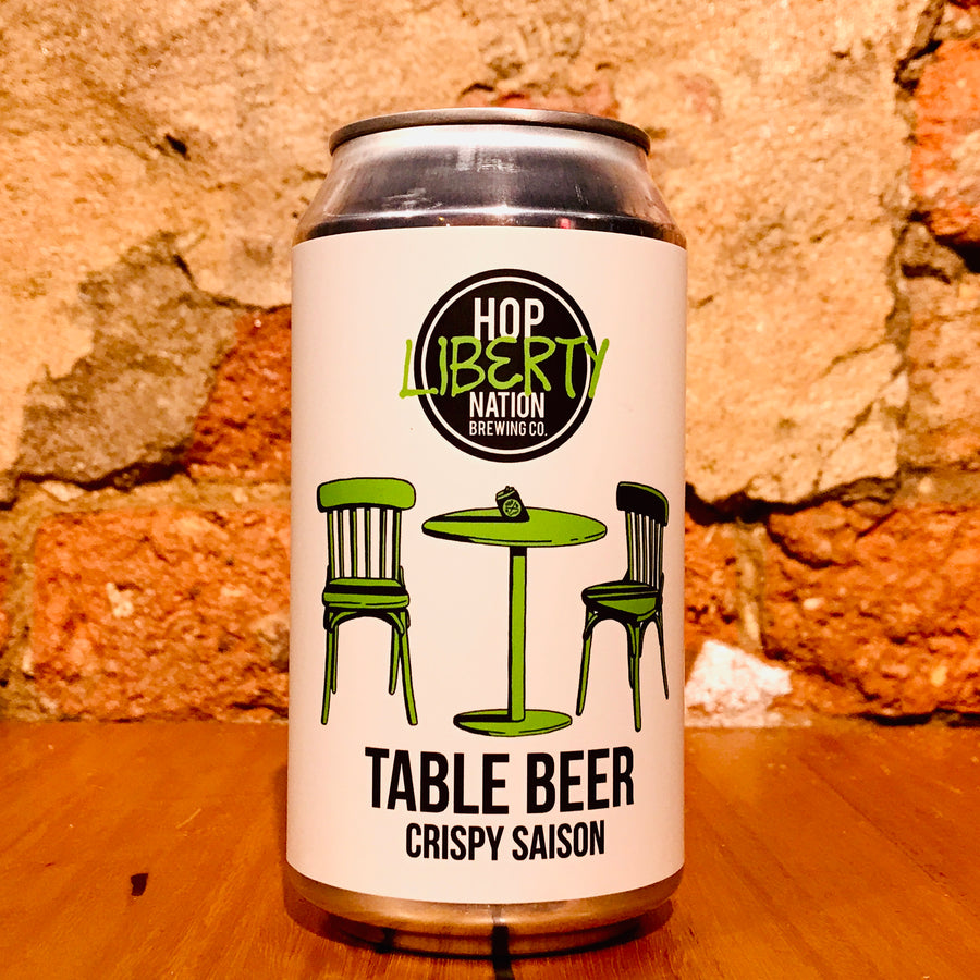 Hop Nation, Table Beer, 375ml