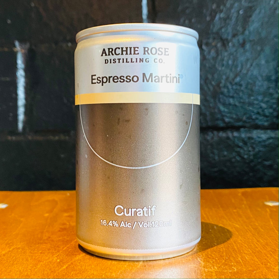 Curatif Archie Rose Espresso Martini, 120ml