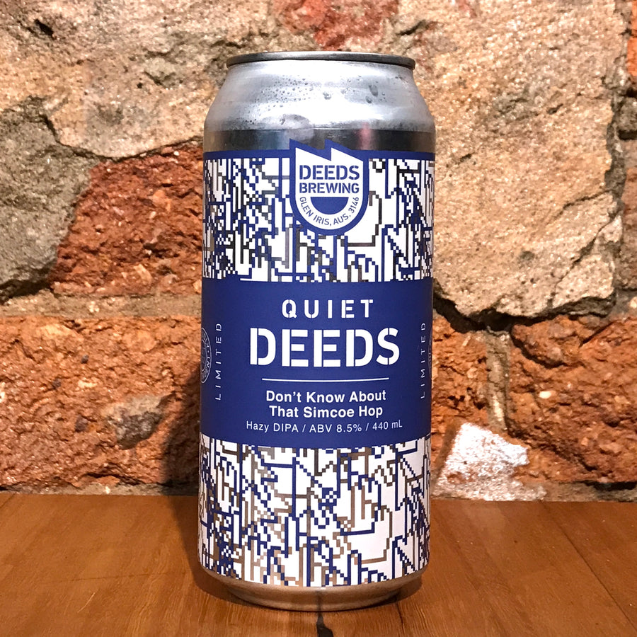 Deeds Brewing, Don't Know About That Simcoe Hop, 440ml