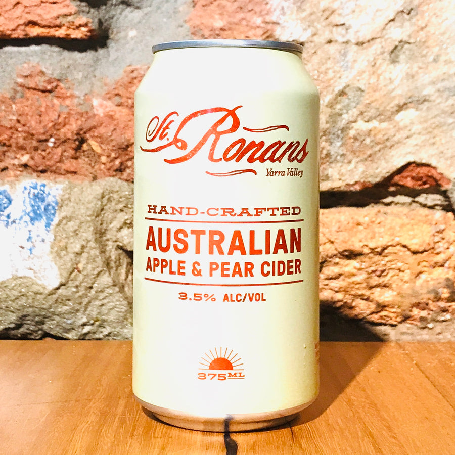 St Ronans, Apple + Pear Cider, 375ml