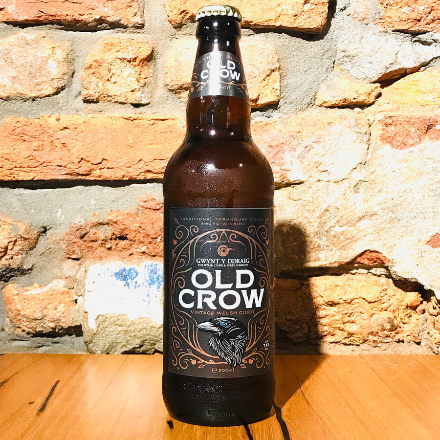 Gwynt Y Draig, Old Crow, 500ml