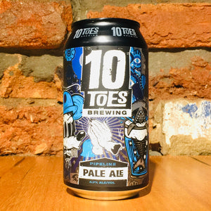 10 Toes Brewery, Pipeline Pale Ale, 375ml