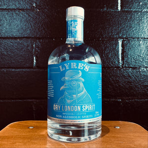 Lyre's, Dry London Spirit Non Alcoholic Gin, 700ml