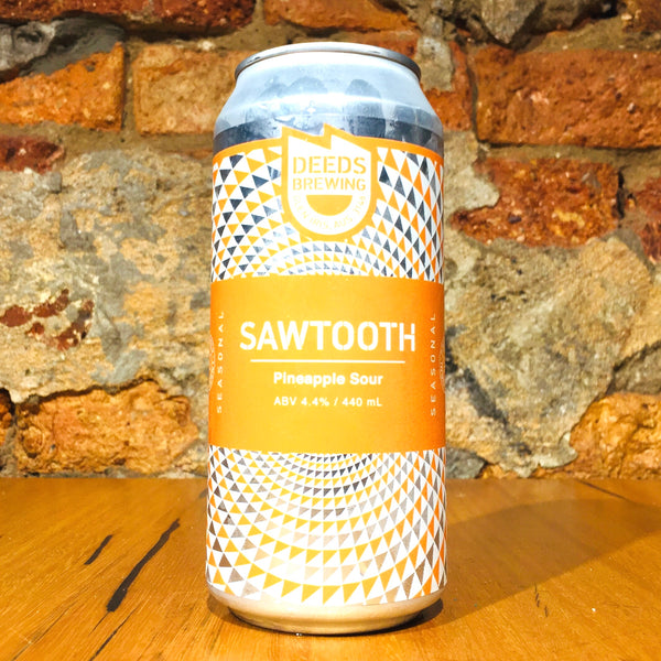 Deeds Brewing, Sawtooth Pineapple Sour, 440ml