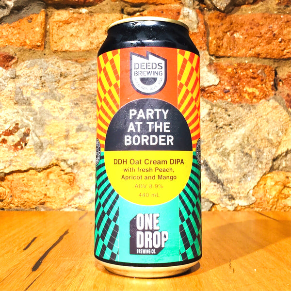 Deeds Brewing, Party at the Border, 440ml