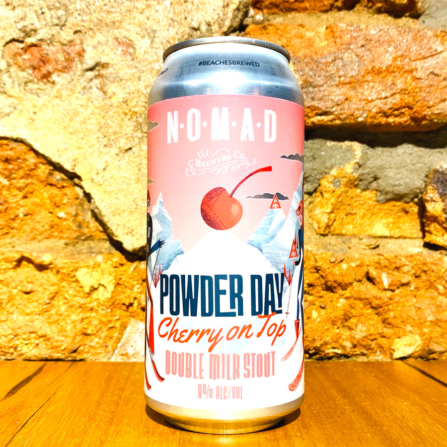 Nomad Brewing, Powder Day Cherry On Top, 440ml