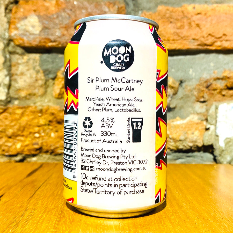 Moon Dog, Sir Plum McCartney Sour Ale, 330ml