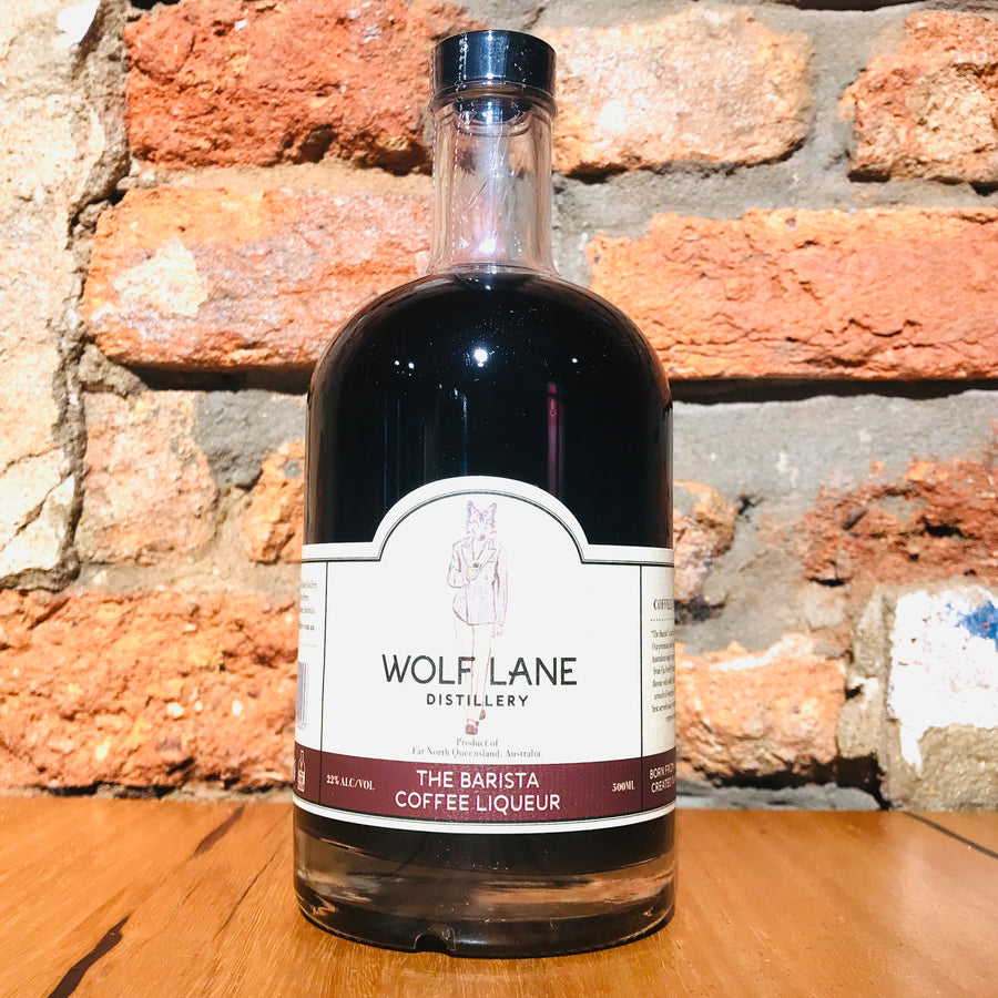 Wolf Lane, The Barista Coffee Liqueur, 500ml