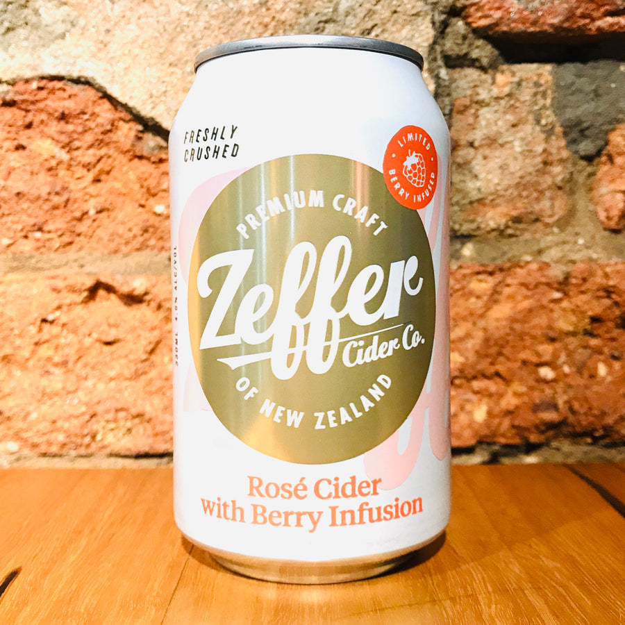 Zeffer Cider Co., Rose Cider with Berries Infusion, 330ml
