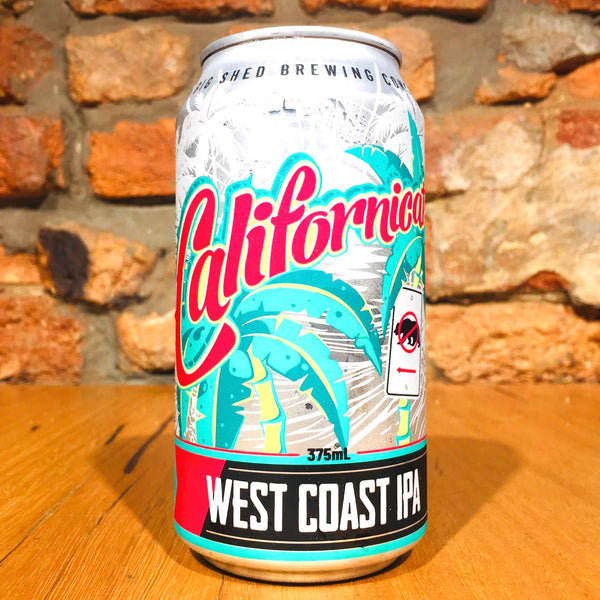Big Shed Brewing Concern, Californicator West Coast IPA, 375ml