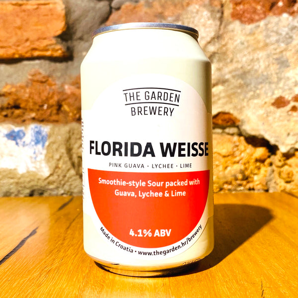 The Garden Brewery, Sours Collection - Pink Guava, Lychee & Lime, 330ml