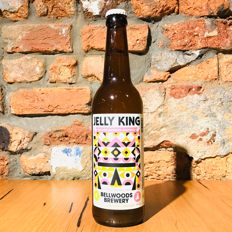 Bellwoods, Fruit Jelly King Pineapple, Tangerine & Grapefruit Sour, 500ml