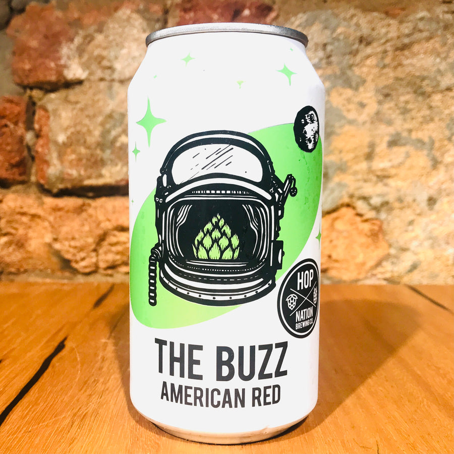Hop Nation, The Buzz American Red, 375ml