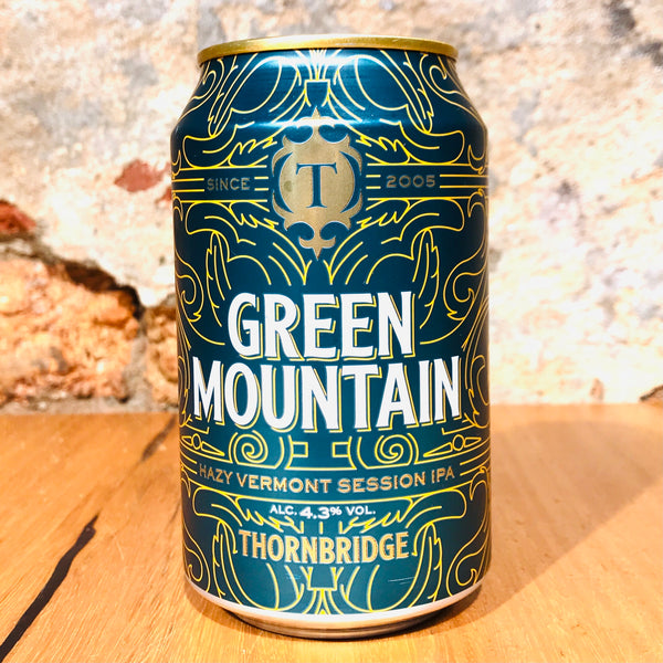 Thornbridge Brewery, Green Mountain, 330ml